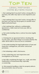revision (2) legal mistakes