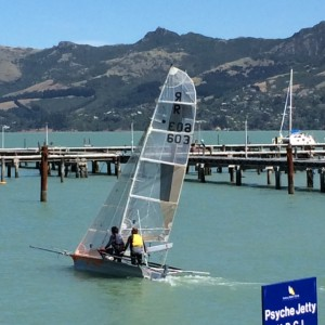 Sailing away.... in New Zealand!