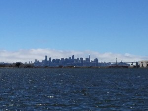 Taken from the southern portion of the former Alameda Naval Air Station.